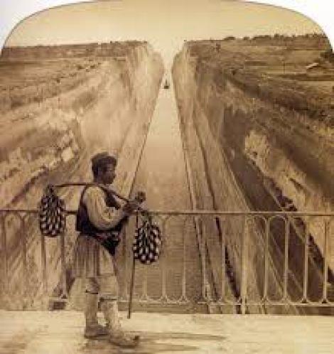 Πώς άνοιξε η Διώρυγα της Κορίνθου.(Σπάνιο φωτογραφικό υλικό) - ΜΑΙΑΝΔΡΟΣ ΛΥΚΑΩΝ