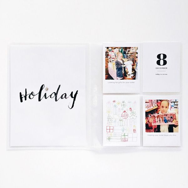 Carly Robertson's December Daily on the Paiselee Press blog