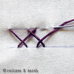 Great stitch tutorials. http://www.embroidery.rocksea.org/