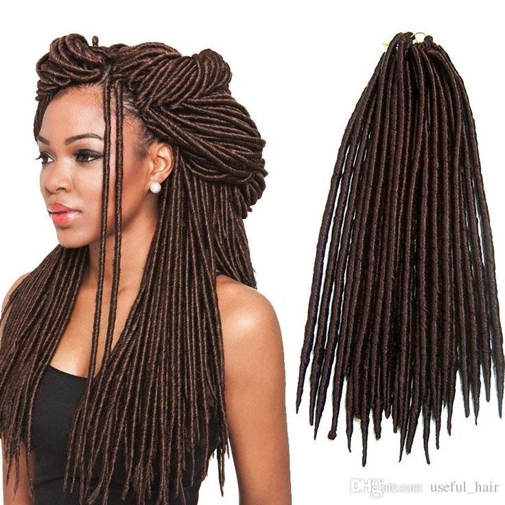 27 best crochet faux locs dreadlocks hair images on pinterest hot sell straight 18inch dreadlocks braids synthetic hair extension dreads 24strandspcs faux locs crochet pmusecretfo Gallery