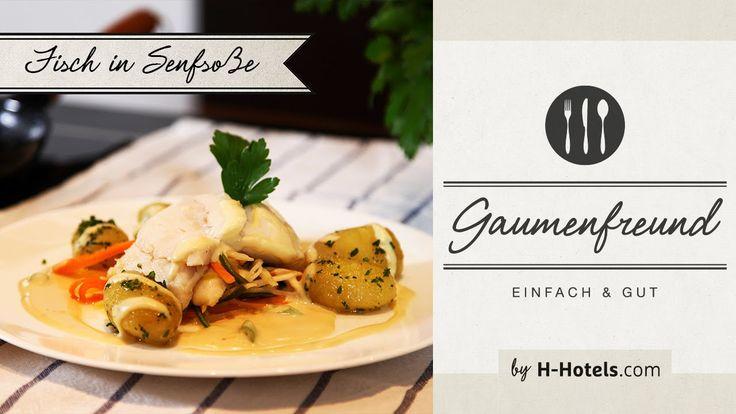 Klassische Gerichte - Senfsoße (die passende Soße zu Fisch) - Kochvideo  Infos zu den Zutaten und zur Zubereitung findest Du hier: https://blog.h-hotels.com/senfsosse/