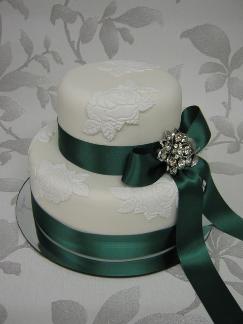 emerald wedding | Emerald Wedding Cake | Flickr - Photo Sharing!