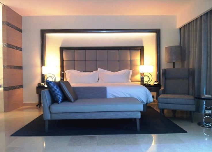 Grand Deluxe Room at the Conrad Algarve luxury resort in Portugal.