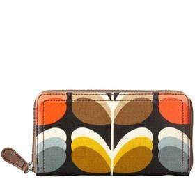 i adore Orla Kiely  - on sale Shadow Stem Big Zip Wallet Multi