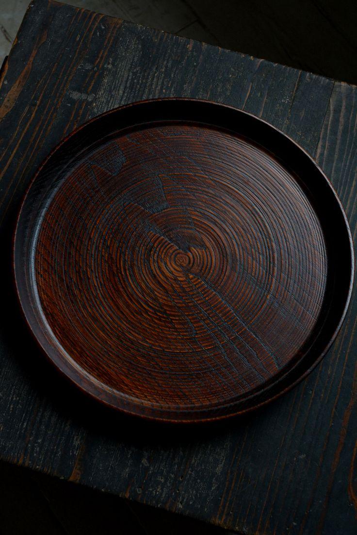 うつわノート. Wood tray for senchado.
