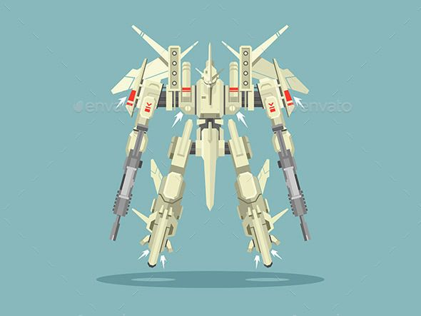 Military Robot Transformer