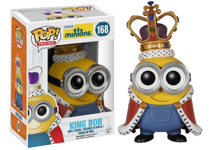 Funko Minions Movie King Bob POP Vinyl Figure