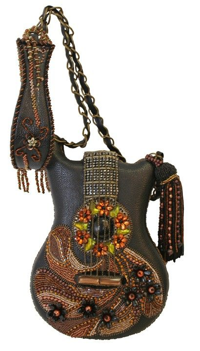 Groupie.Mary Frances handbag - I might just carry a purse more often if it was this AWESOME!!!