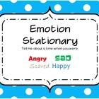 Emotion stationary for writing.  Students can use these cute stationary sheets for writing about a time they were angry, scared, happy, or sad.
