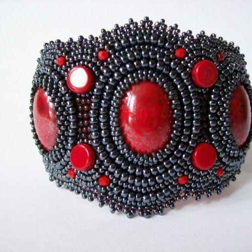 Cudowna bransoleta z koralików