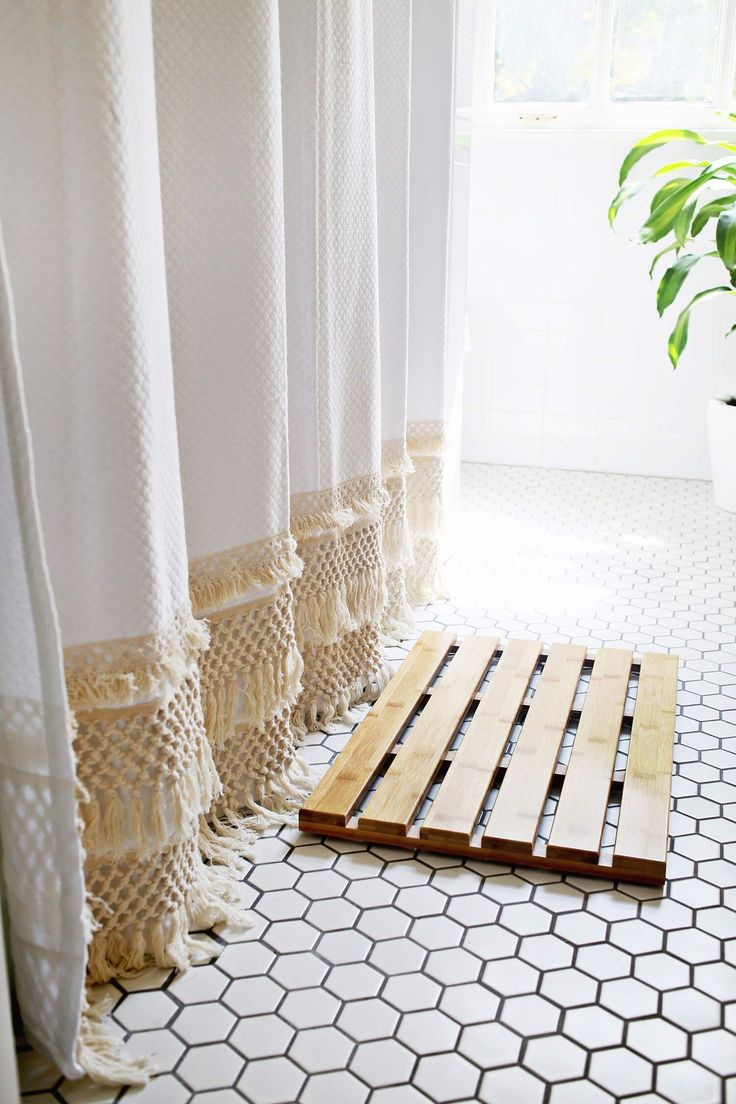 Best 25  Long shower curtains ideas on Pinterest | Curtains easy ...