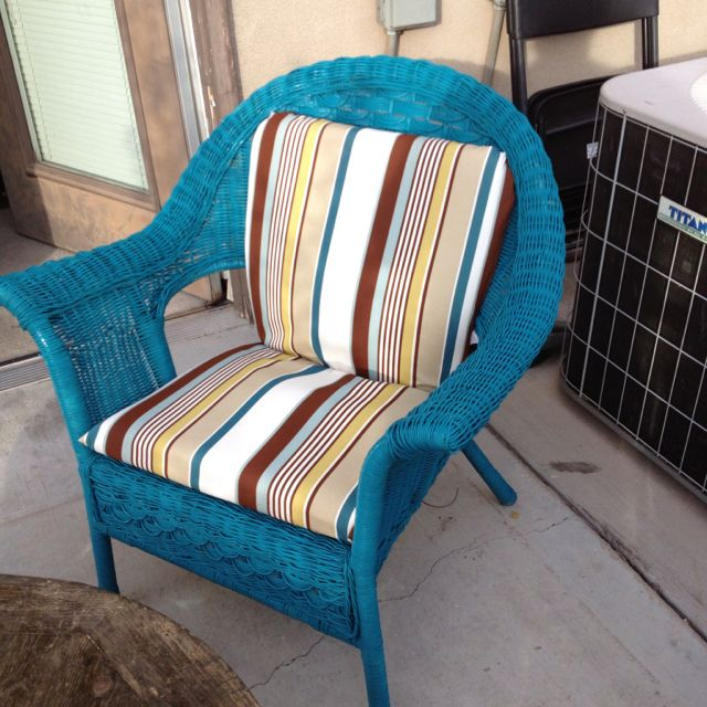 How To Paint Wicker Patio Furniture