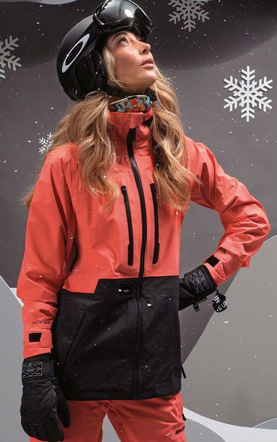 3d56de8b Armada Womens Resolution Gore-Tex 3L Ski/Snowboard Jacket, XS Coral ...