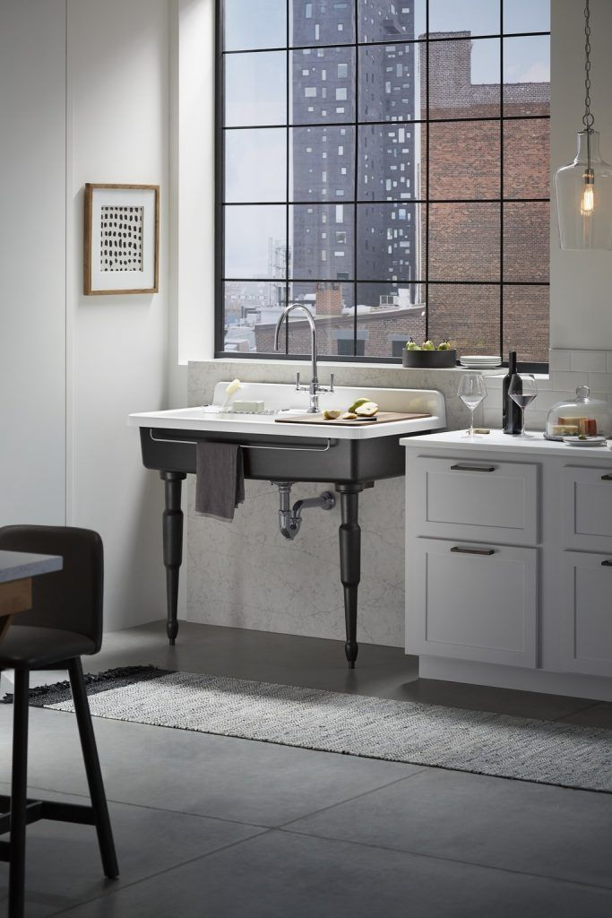 Kohler Has Re Imagined The Traditional Apron Front Sink With Its