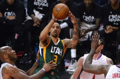 Utah Jazz point guard George Hill will miss Thursday night's game against the Golden State Warriors due to soreness in his left big toe,…