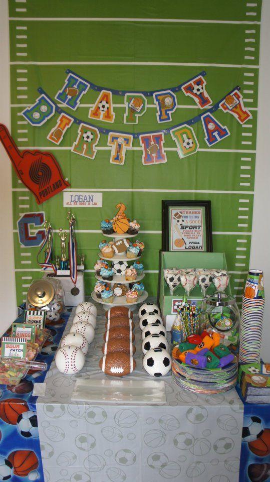 Put a ribbon on it!: All Star Sports Birthday!