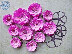 Komplet wykrojników Kwiaty nr5