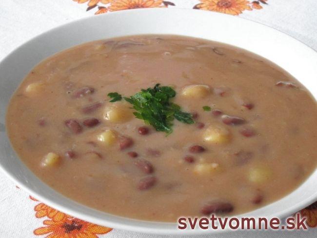 Fazuľová polievka na sladkokyslo