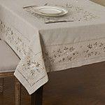 Cuadrado Bordado Forros de Mesa , 100% Algodón MaterialDecoración del banquete de boda Cena banquete de la boda Decoración de Navidad 2017 - $130.28
