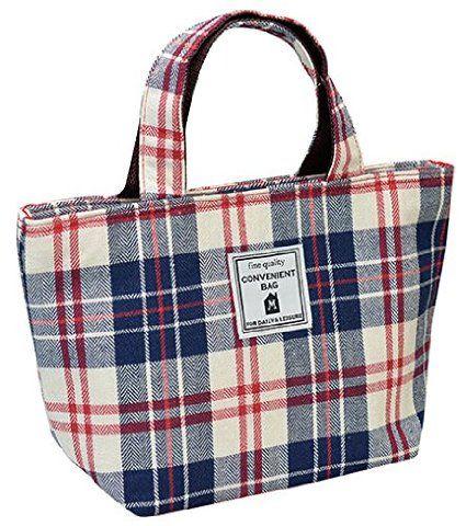 MARIO 『保冷バッグやお弁当袋に』 プロムナード 保冷ランチトート レッド M-11940