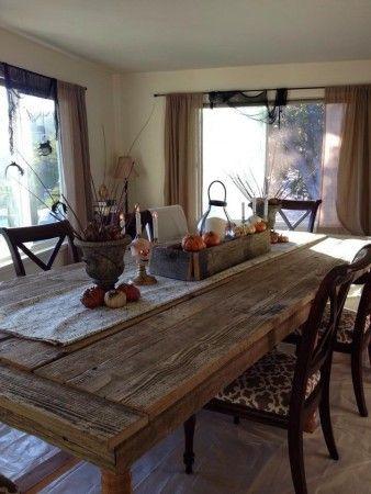 Best 25+ Barn wood tables ideas on Pinterest   Wood tables
