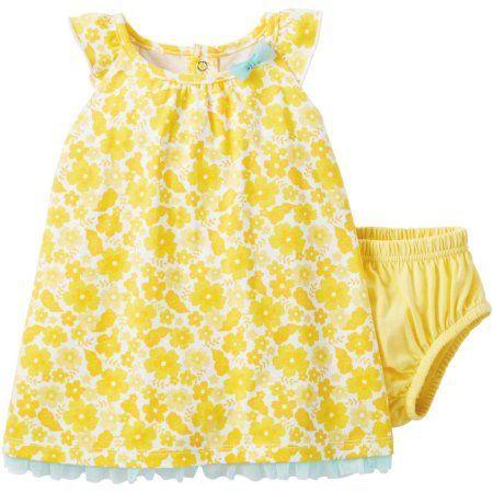 yellow dress 3 6 months 4d