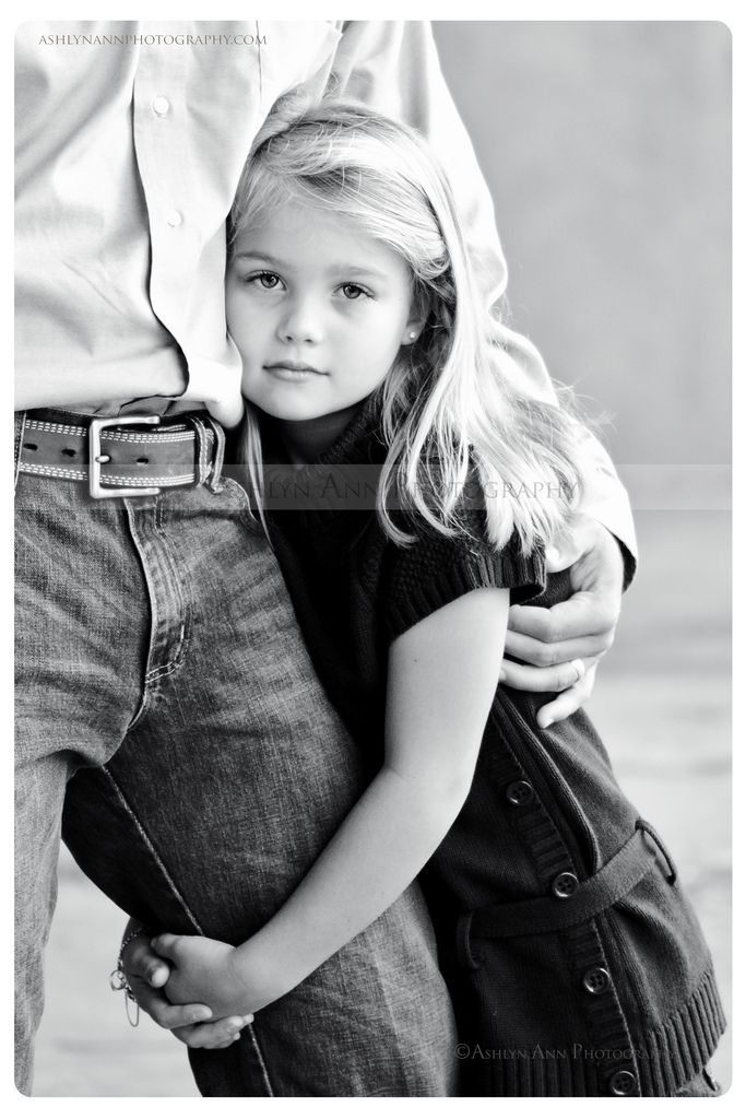 Photo by Ashlyn Ann Photography    Photographer's rule....ALWAYS be ready!  This shot was captured while Mom ran to change outfits!  Such a casual shot that speaks volumes!  Gotta love those Daddy and Daughter moments.    ashlynannphotography.com