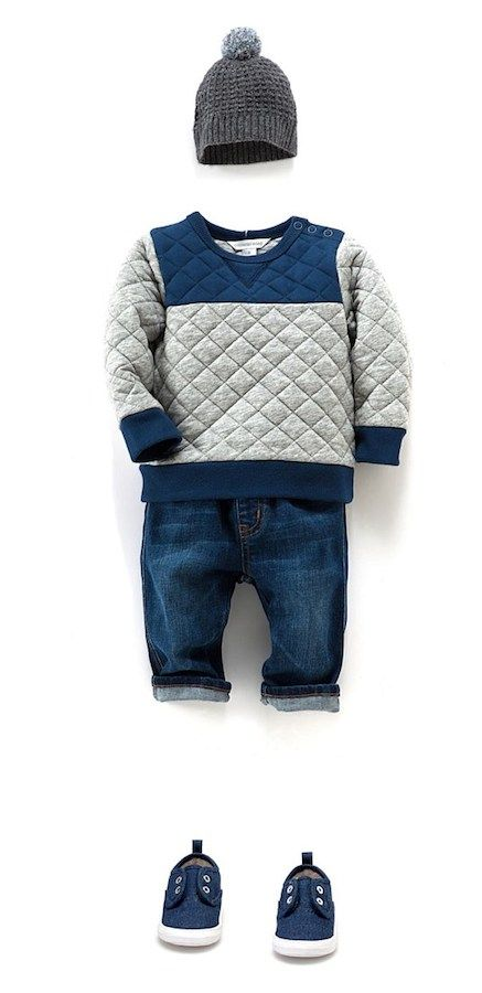 Me gusta mucho cuando las tiendas sugieren conjuntos de moda infantil