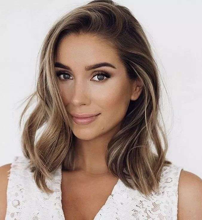 50 fun and flattering medium hairstyles for women 2019 28 » Welcome