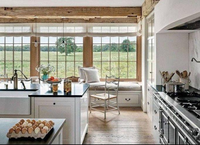 AinShabby chic country kitchen – Jelanie - idee deco cuisine ...