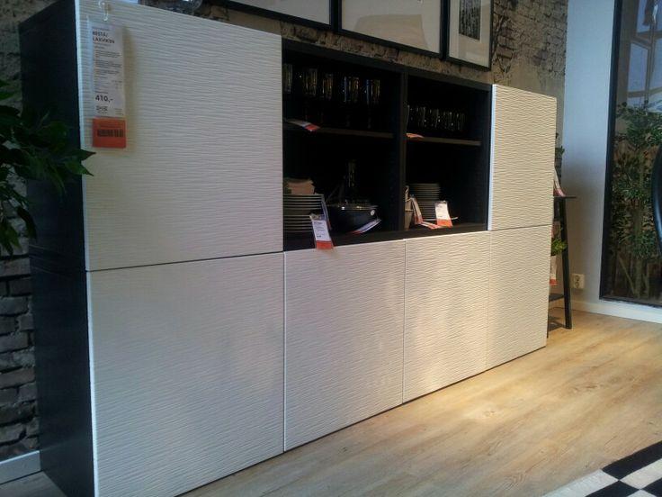 Best 229 laxviken shelf love those doors living room pinterest