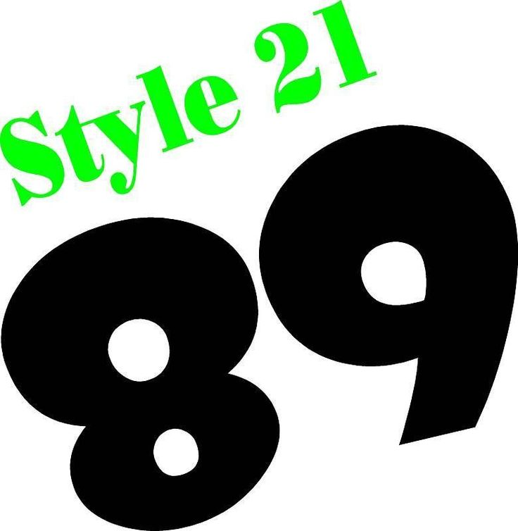 Custom Motorcycle number plate race numbers --- decals stickers graphics mx atv