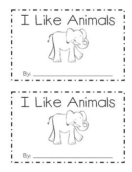 Kids love animals, and they will love this easy-to-read emergent reader!  Targets the sight words: I, like, the.  A great reader to add to your literacy stations or to use for guided reading!  I hope you enjoy!  I'd love feedback.  Swing by my blog:  http://kindersuperkids.blogspot.com  artwork by KPM Doodles www.kpmdoodles.com copyright 2010