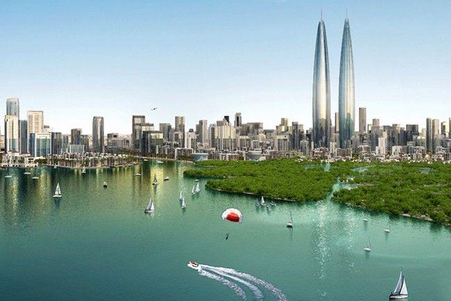 Dubai Creek Harbor, Dubai Creek Harbor by EMAAR Properties and Dubai Holding, Dubai Creek Harbor EMAAR Properties, Dubai Holding - http://architectism.com/dubai-creek-harbor-emaar-properties-dubai-holding/
