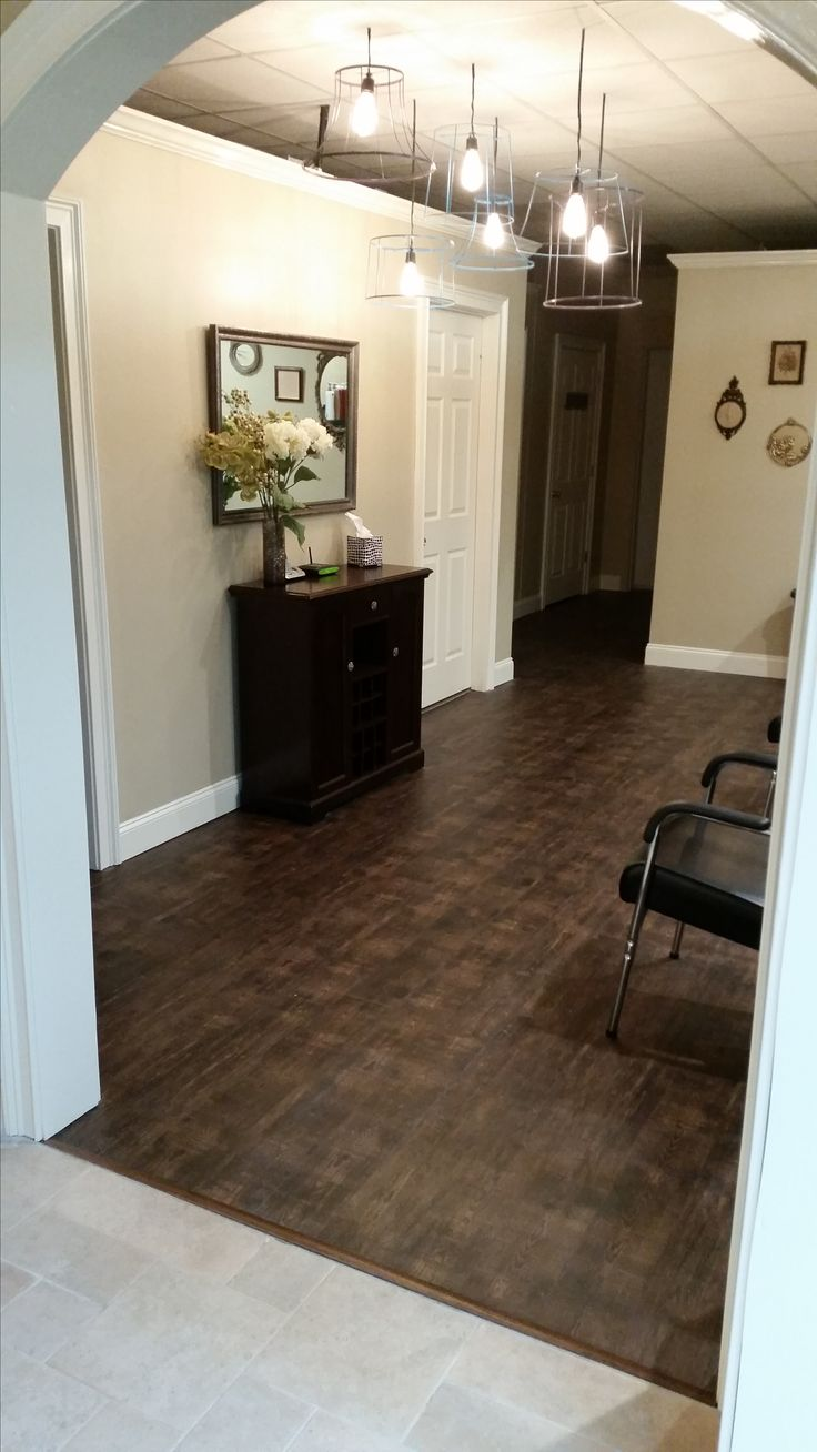 8 best luxury vinyl tile lvt and vinyl images on pinterest luxury vinyl is perfect for the salon durable and easy to clean dailygadgetfo Gallery