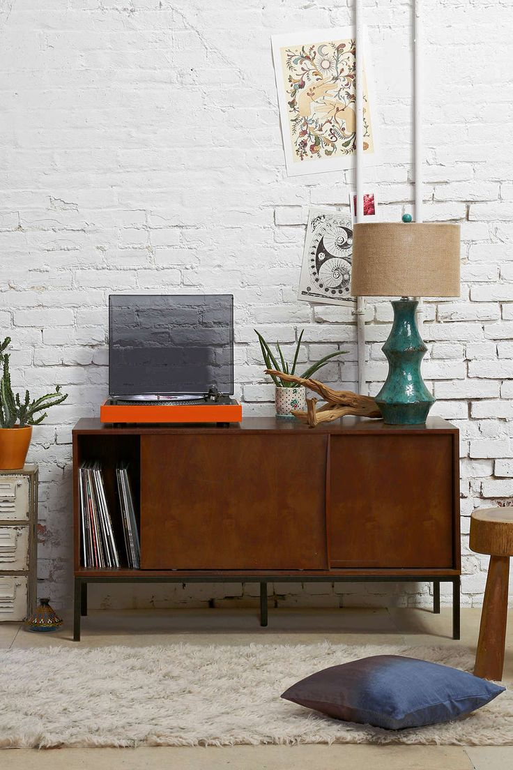 Assembly Home Midcentury Console - not crazy about the simple design. material is probably cheap and overpriced. but it's an option.