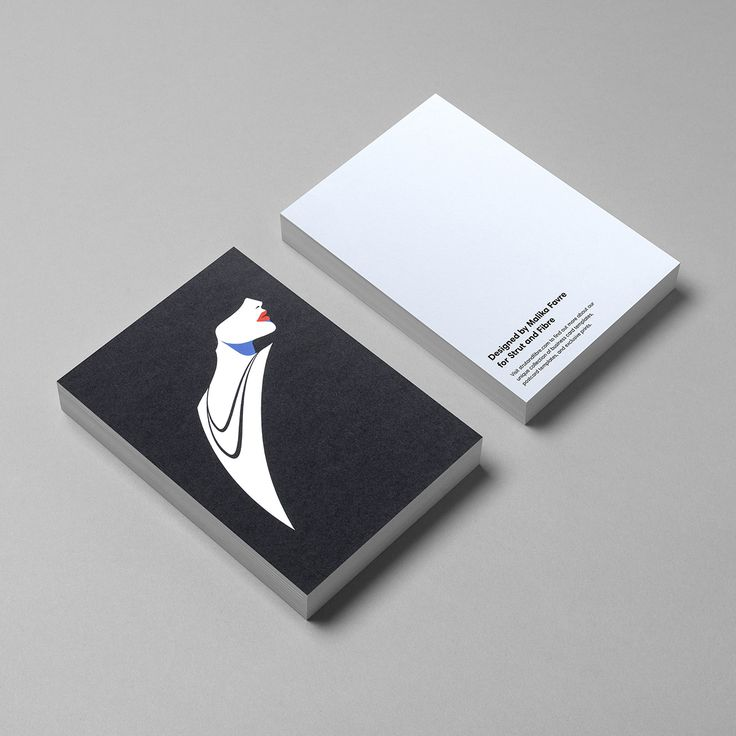 Postcard template designed by Malika Favre for Strut and Fibre's Ambassador Collection.