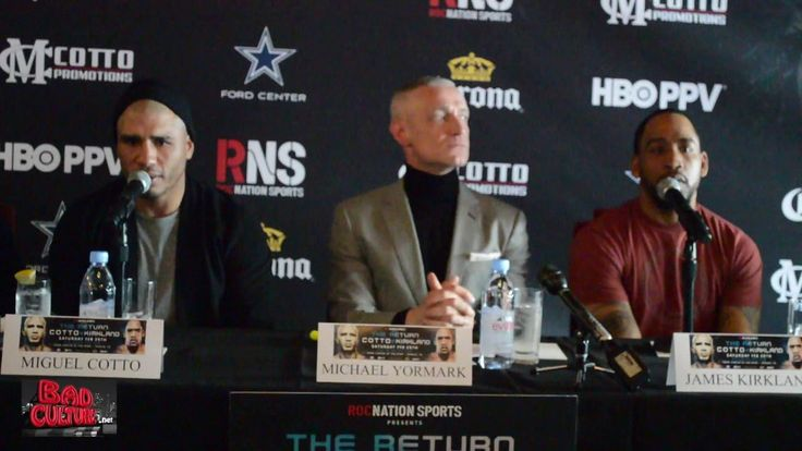 Miguel Cotto vs. James Kirland FULL LA Press Conference