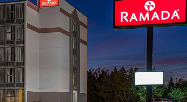 Ramada West Atlantic City West Atlantic City This hotel is next to Lakes Bay with views of the Atlantic City skyline. The hotel offers shuttle service to Atlantic City's airport, bus and rail stations.  Ramada West Atlantic City provides a daily breakfast and free on-site parking.