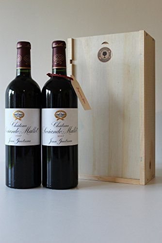 Coffret Noël 2 bouteilles Ch. Sociando Mallet 2007 Haut Médoc: Tweet Une idée originale de coffret cadeaux pour un anniversaire, Noël, la…