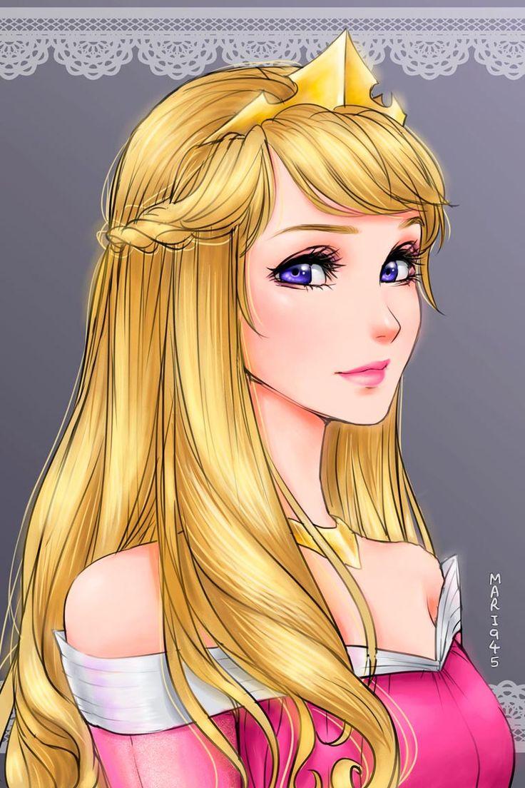 princesas da disney versão mangá 5