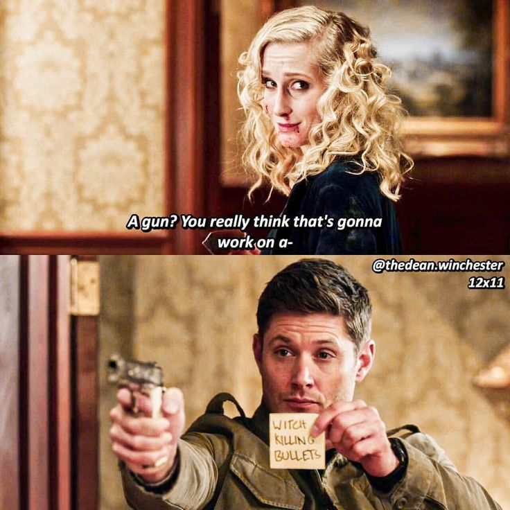 badass Dean ^_^ #Supernatural 12x11 Regarding Dean #bullets for witches #witch Catriona Loughlin
