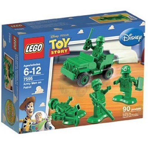 LEGO Toy Story Army Men on Patrol Building Play Set 7595 NEW NIB Retired Sealed