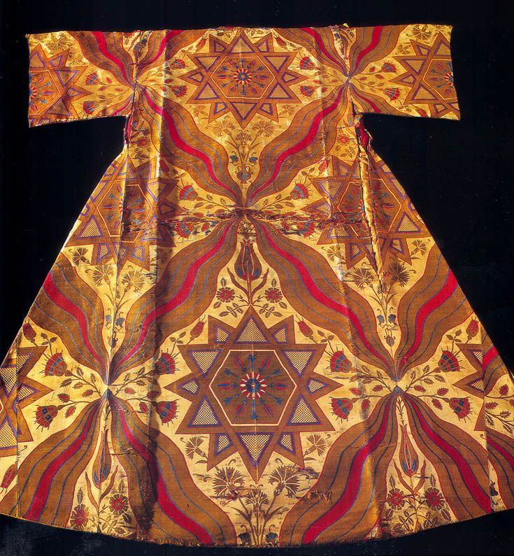 Silks for the Sultans - Textile Museum of Topkapi, Istanbul - Ornament and style DPI