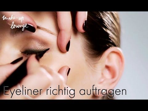 ▶ Schminktipps - Liquid Eyeliner richtig auftragen - YouTube