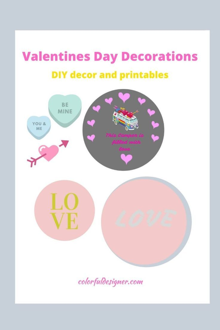 Easy To Make Valentines Day Decorations Diy Last Minute In 2020