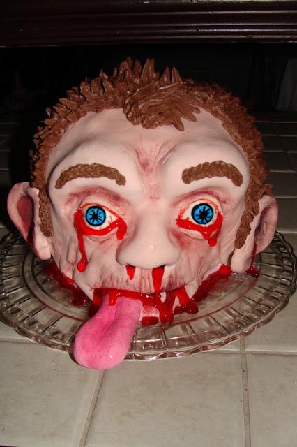 Gâteau 3D, le régal des zombies