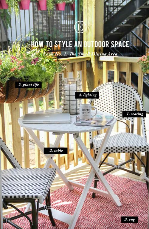 The 5 key components to style any outdoor space