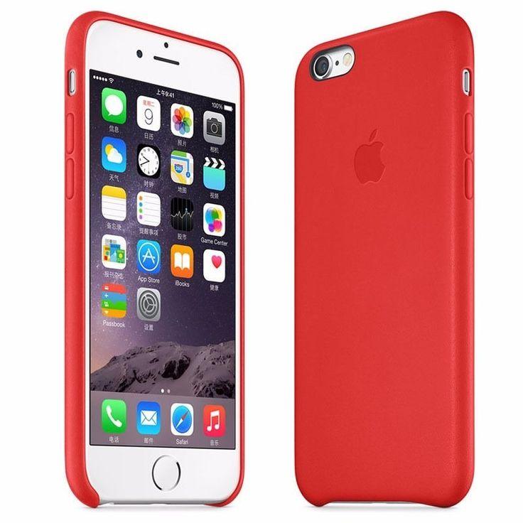 Capa Capinha Couro Premium Apple Iphone 6s E 6 Tela 4.7 - R$ 34,99 em Mercado Livre