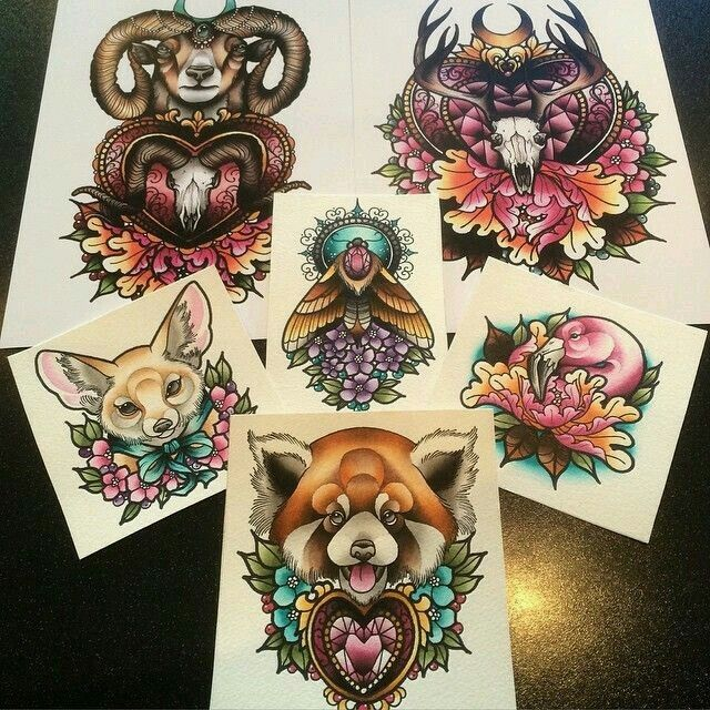17 Best Ideas About Neo Traditional Art On Pinterest